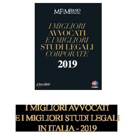 I migliori Avvocati e i migliori Studi in Italia 2019